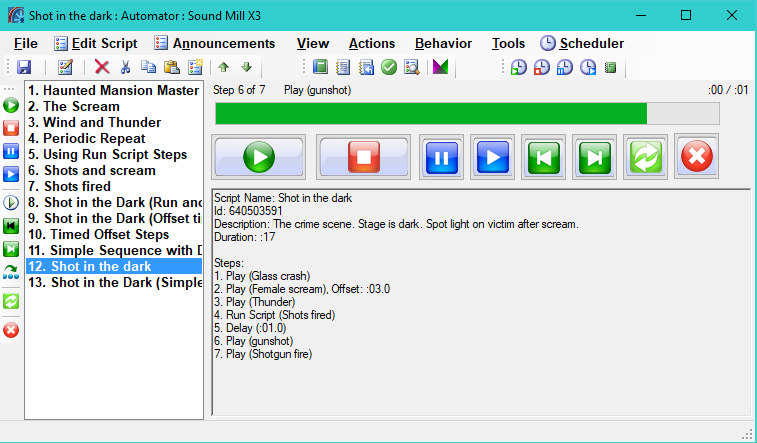 Sound Mill screenshot
